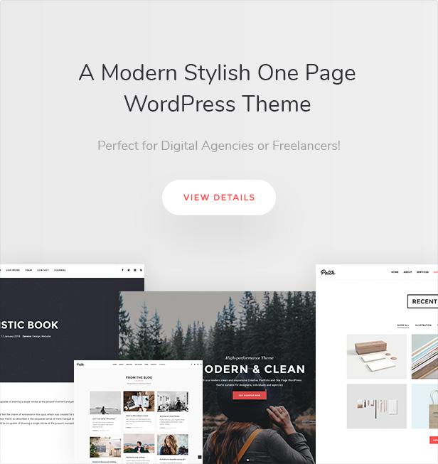 Onliest - Creative Portfolio One Page WP Theme - 2