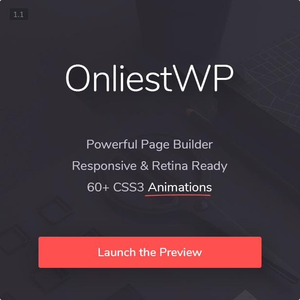 Onliest - Creative Portfolio One Page WP Theme - 1